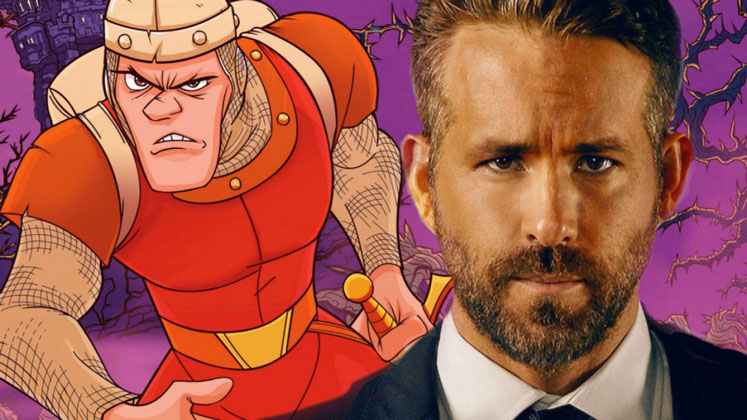 Ryan Reynolds starring for Netflix's Dragon's Lair live-action film