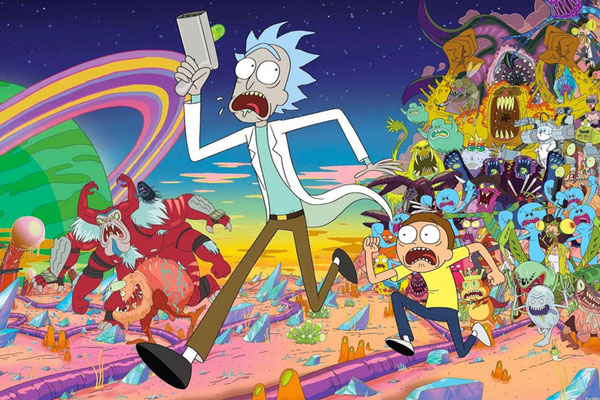 When is the release date of Rick and Morty season 4 for Netflix?