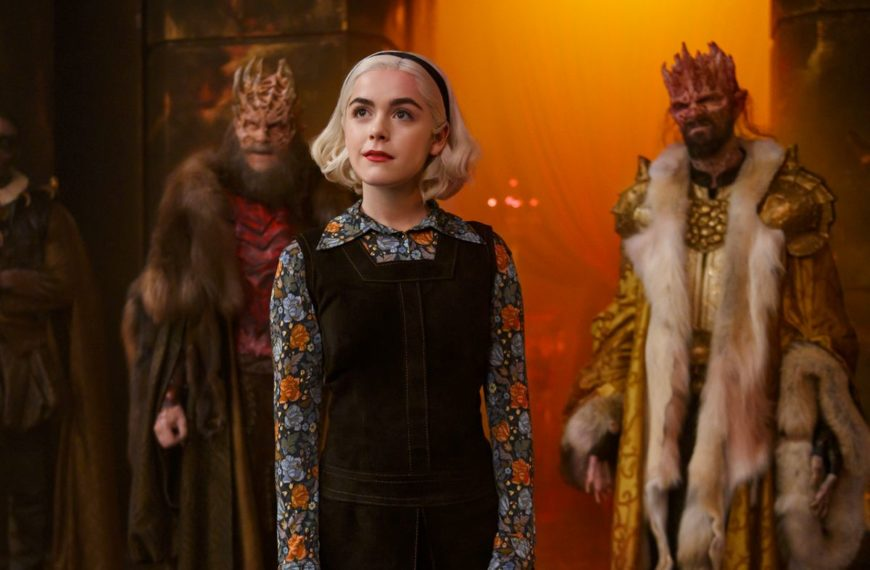 Chilling Adventures of Sabrina season 4 final for the Netflix