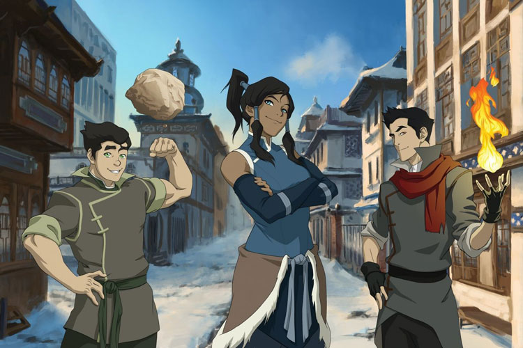 When is The Legend of Korra release date for Netflix?