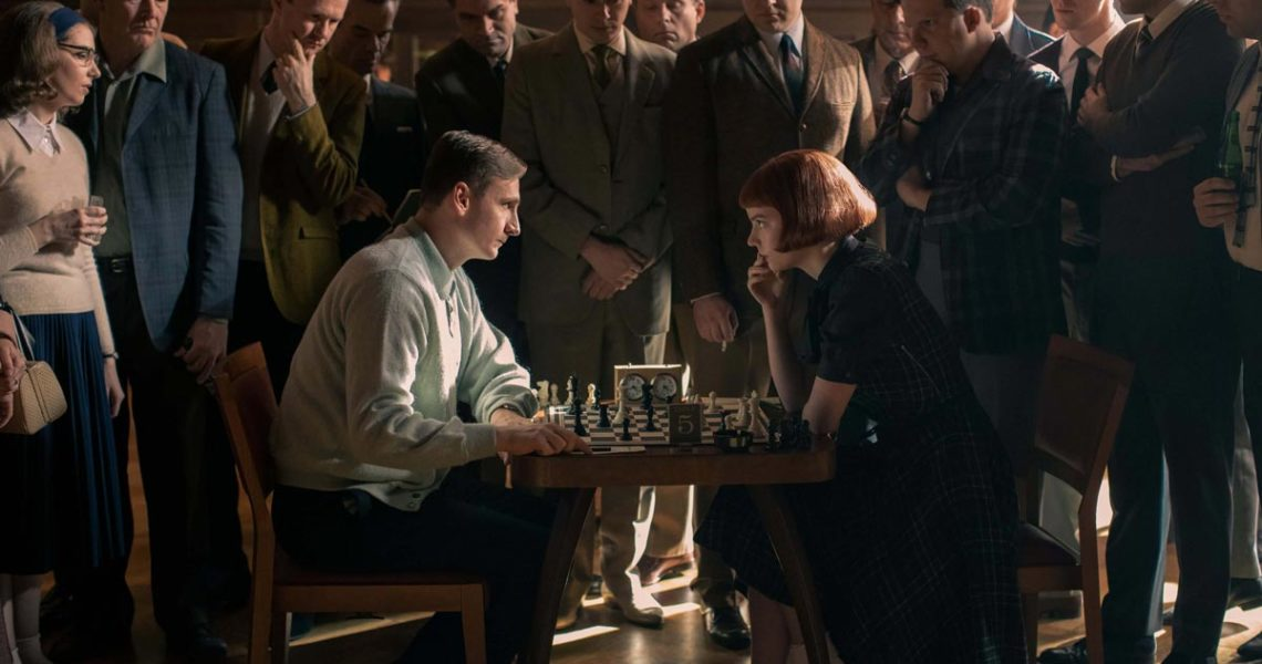 "Netflix ""The Queen's Gambit"" Beth Harmon Waiting You on Chess.com"