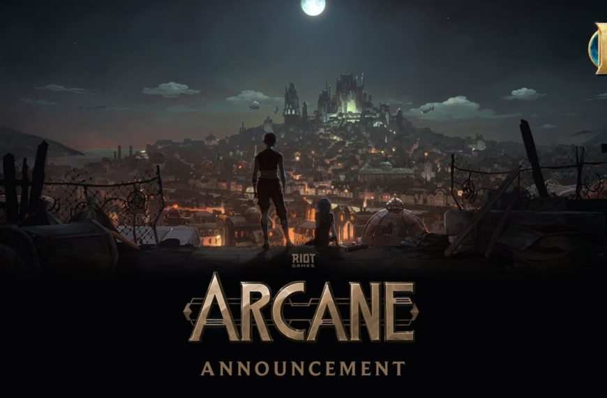 League of Legends animated series Arcane to release on Netflix in Fall 2021