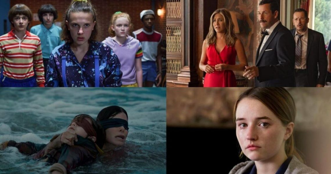 Netflix viewing stats for series and movies in 2021