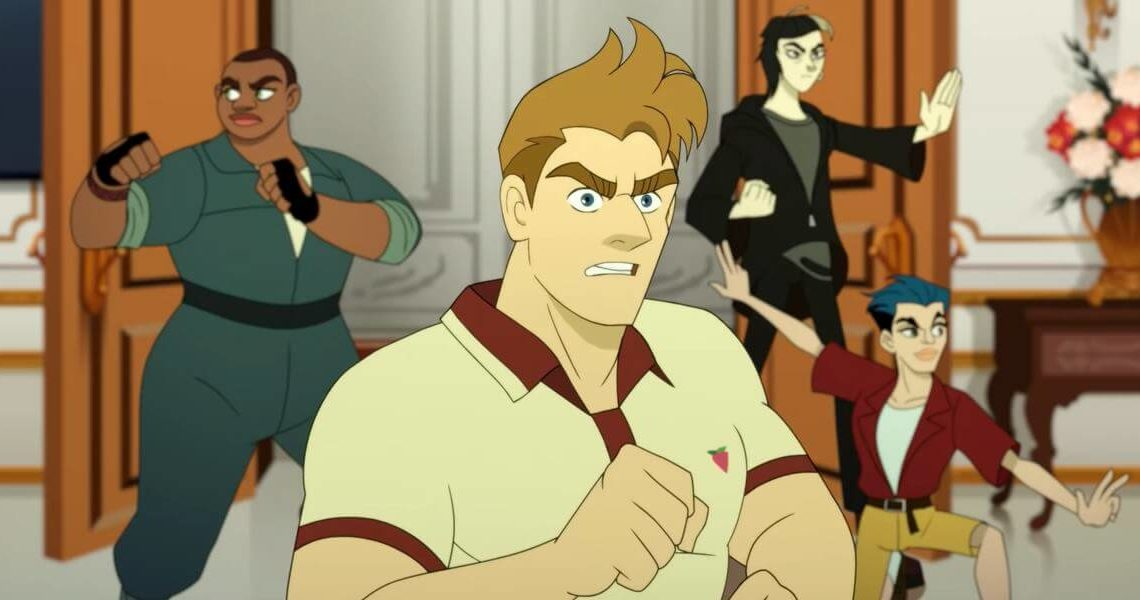Netflix teases its new queer anime Q-FORCE starring David Harbour