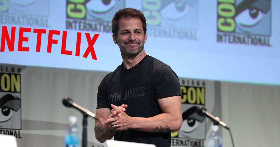 Upcoming Zack Snyder Projects on Netflix