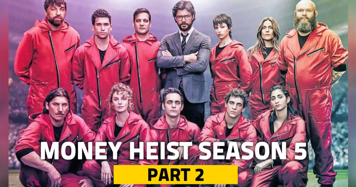 The End Is Coming: New Clip Release of Money Heist Season 5 Volume 2